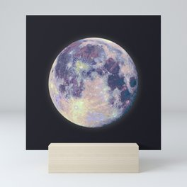 Blue moon Mini Art Print