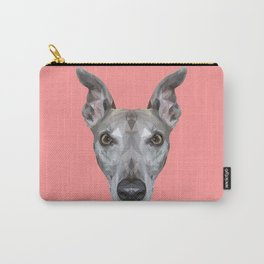 Whippet // Pink (Vespa) Carry-All Pouch