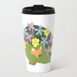 Spring Hedgehog Travel Mug