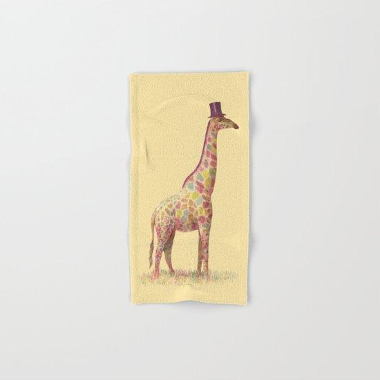 Fashionable Giraffe Hand & Bath Towel