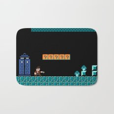 The Doctor Visits World 1-2 Bath Mat