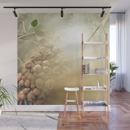 Whimsical Wolf Farts Wall Mural