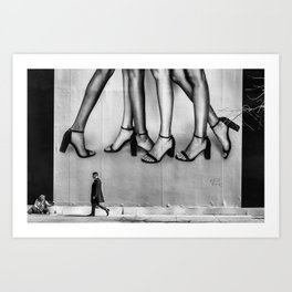 Without A Leg To Stand On Art Print
