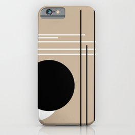 Crossover - Lines and Curves - Set 2 iPhone Case