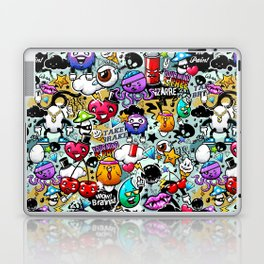Bizarre Graffiti #1 Laptop & iPad Skin