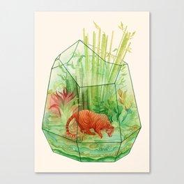Tigerrarium Canvas Print