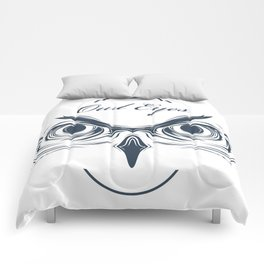 owl eyes Comforters