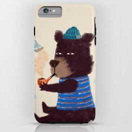 BLACK BEAR SAILOR II iPhone Case