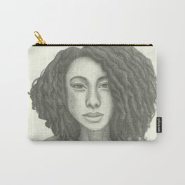 Corinne Bailey Rae Pencil Portrait Carry-All Pouch