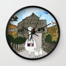 Peking duck1 Wall Clock