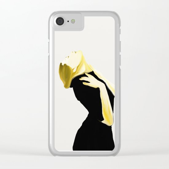 lust 1 Clear iPhone Case