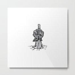 DelStalk Undead Metal Print