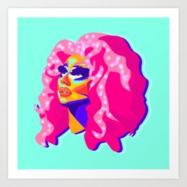QUEEN TRIXIE MATTEL Art Print