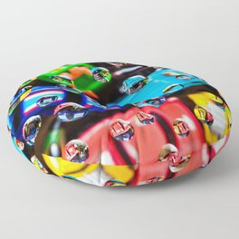 AJKG *Toy Cars + Drops* Floor Pillow