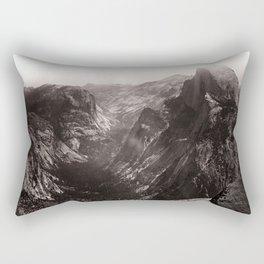 Half Dome, Yosemite Valley, California Rectangular Pillow