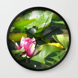 Nymphaea lotus Wall Clock