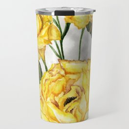 Yellow roses Travel Mug