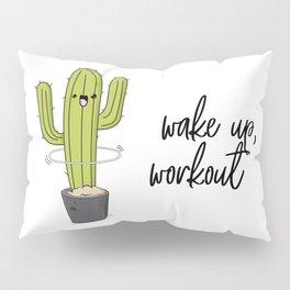 Cactus workout Pillow Sham