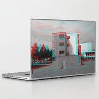 bauhaus Laptop & iPad Skins featuring Bauhaus · Das Bauhaus 2 by Marko Köppe