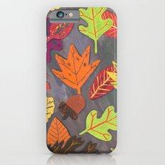Autumn Leaves Pattern Slim Case iPhone 6s