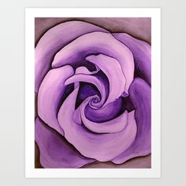 Lavrose Art Print