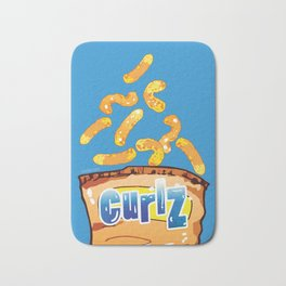 Cheese Curls : Junkies Collection Bath Mat