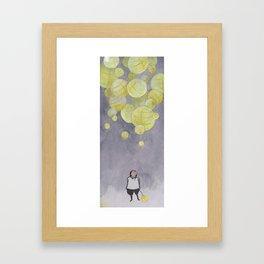 Paper Light Framed Art Print