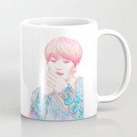 shinee Mugs featuring SHINee Taemin by sophillustration