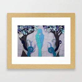 Winter Kiss 1 Framed Art Print