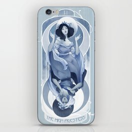 The High Priestess iPhone Skin