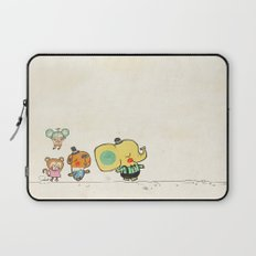 Walking with you Laptop Sleeve