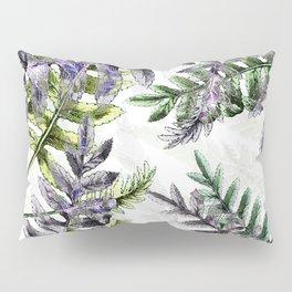 Vintage Ferns Pillow Sham