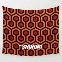 stanley kubrick Wall Tapestries featuring The.Shining. by IIIIHiveIIII