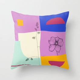 R12 Relaxed Mood Throw Pillow