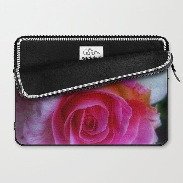 Spiral Rose Laptop Sleeve