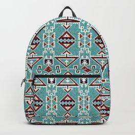 Native American Indians Navajo Pattern Backpack