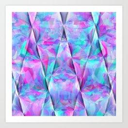Ripping geometrics..... Art Print