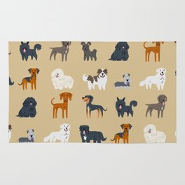 EASTERN EUROPEAN DOGS Rug