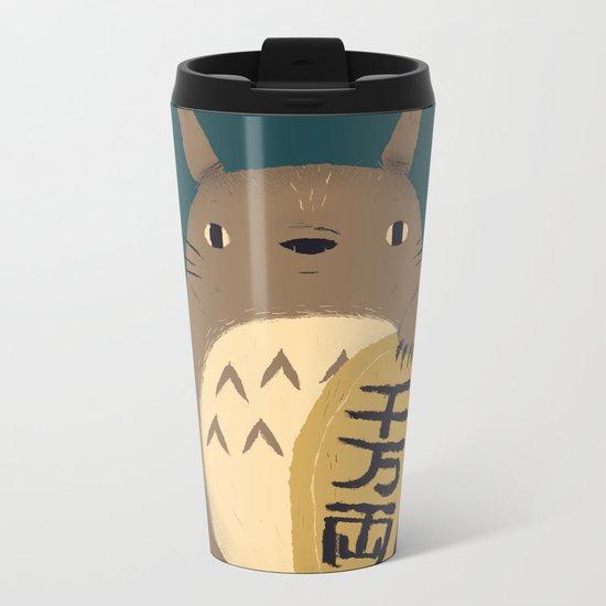 lucky forest spirit Metal Travel Mug