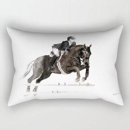 Horse (Jumper II) Rectangular Pillow