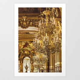 A Night At The Opera Art Print