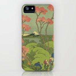 Japanese Print iPhone Case