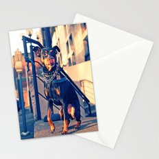Little tough guy Stationery Cards