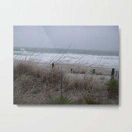 Ice dunes Metal Print