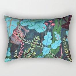 Water Dragon Rectangular Pillow