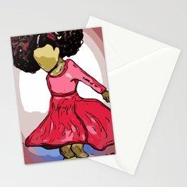 Little Girls Rock Stationery Cards