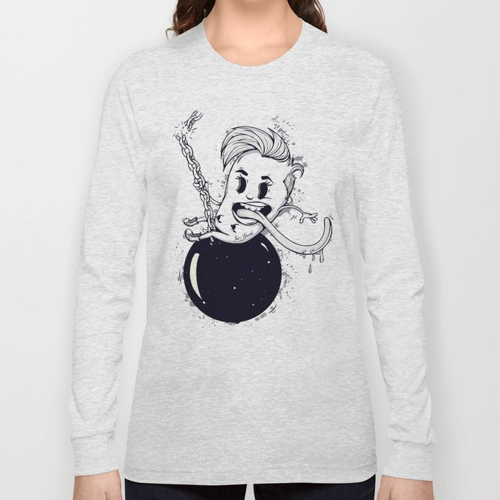 Wrecking Ball Long Sleeve T-shirt