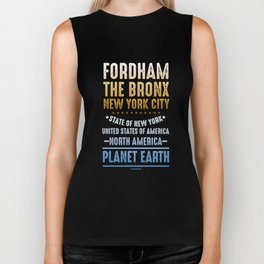 Fordham The Bronx New York City USA America Biker Tank