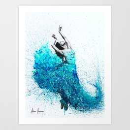 Tropical Reef Dance Art Print