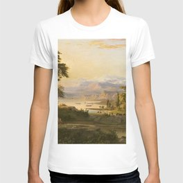 A Dream of Italy Pastoral Landscape by Robert Seldon Duncanson T-shirt